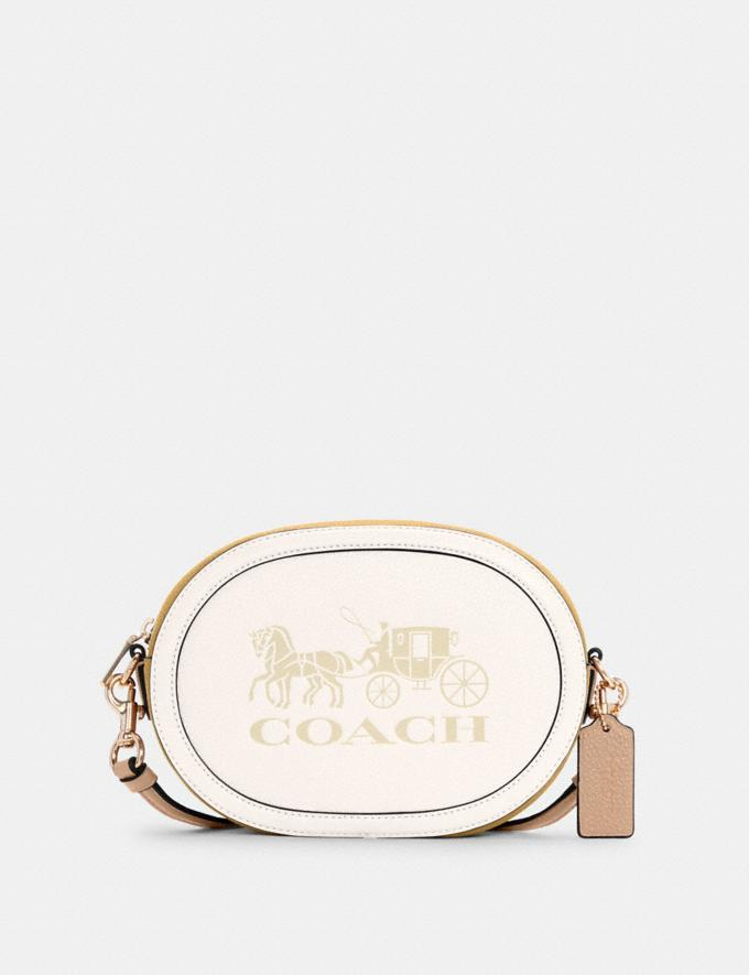 Coach Camera Bag in Colorblock With Horse and Carriage Im/Chalk/Vanilla Cream Bags Bags Crossbody Bags