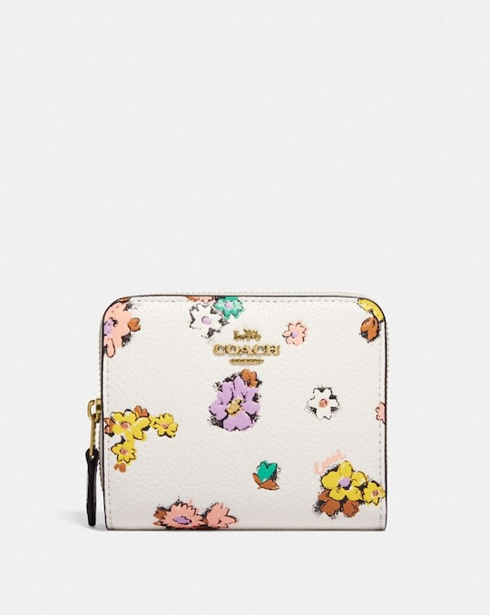 BILLFOLD WALLET WITH FLORAL PRINT