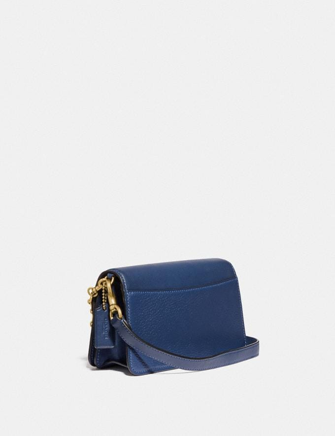 Coach Beat Crossbody Clutch Brass/Deep Blue null Alternate View 1