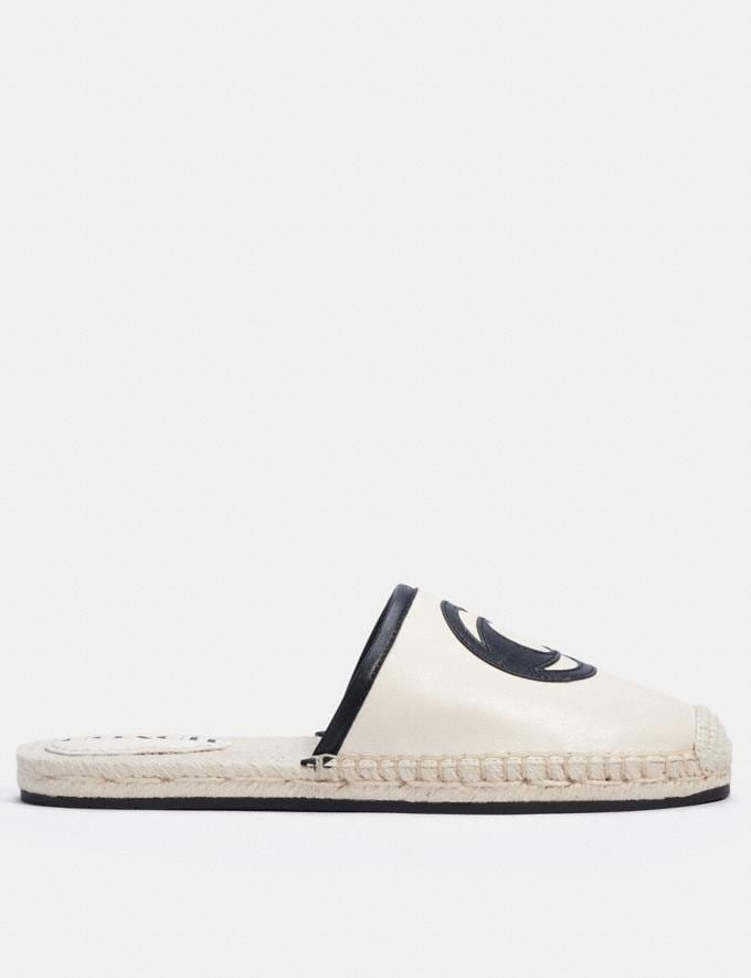 Coach Channing Espadrille Chalk null Alternate View 1