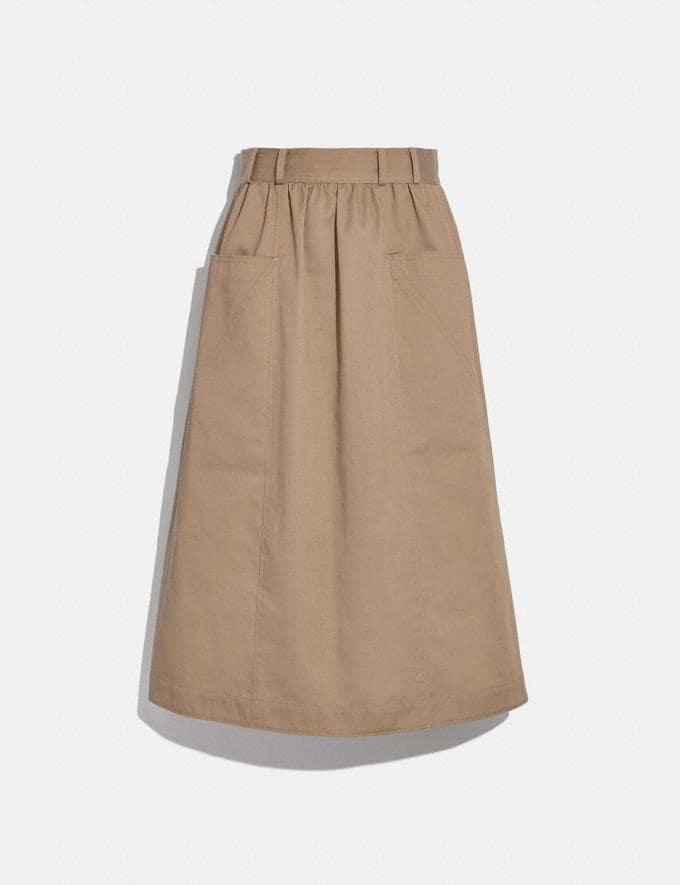 Coach Trench Skirt Mud