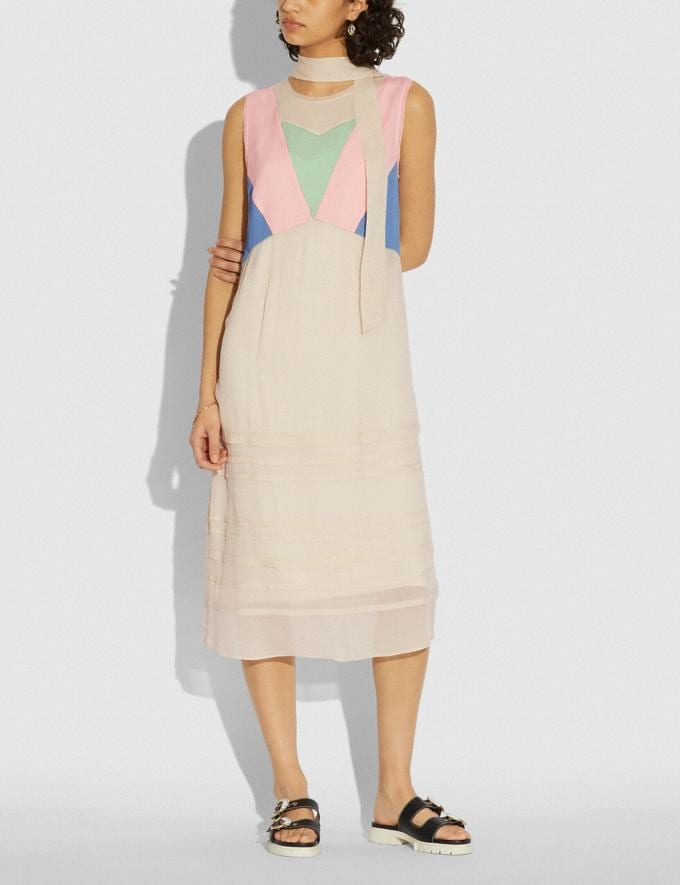 Coach Paint by the Numbers Dress Pale Yellow  Alternate View 1