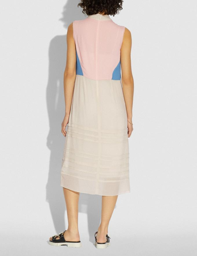 Coach Paint by the Numbers Dress Pale Yellow  Alternate View 2