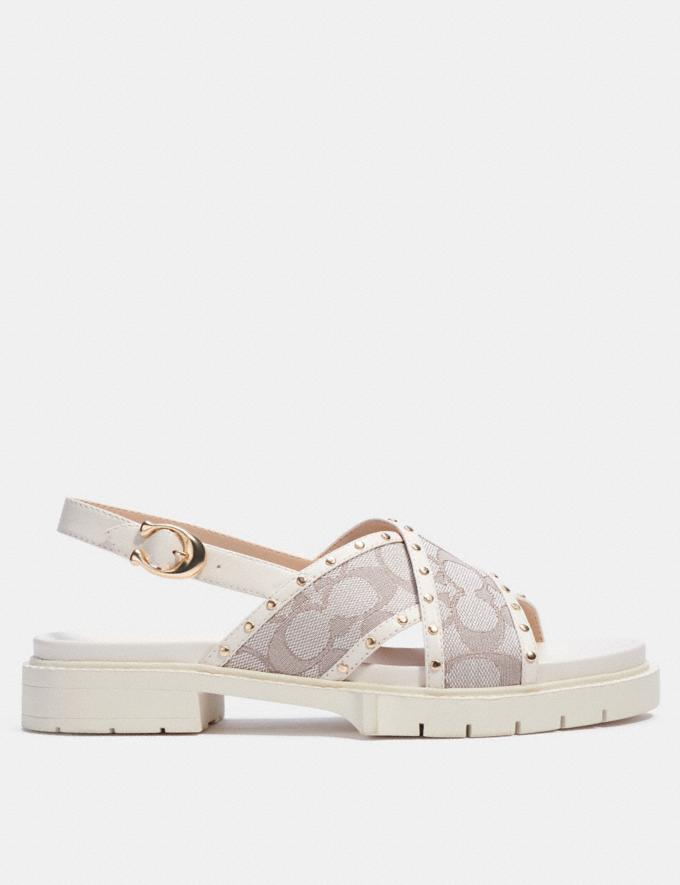 Coach Palmer Sandal Stone null Alternate View 1