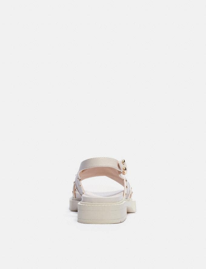 Coach Palmer Sandal Stone null Alternate View 3