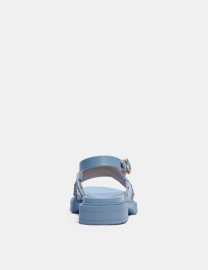 Coach Palmer Sandal Light Wash null Alternate View 3