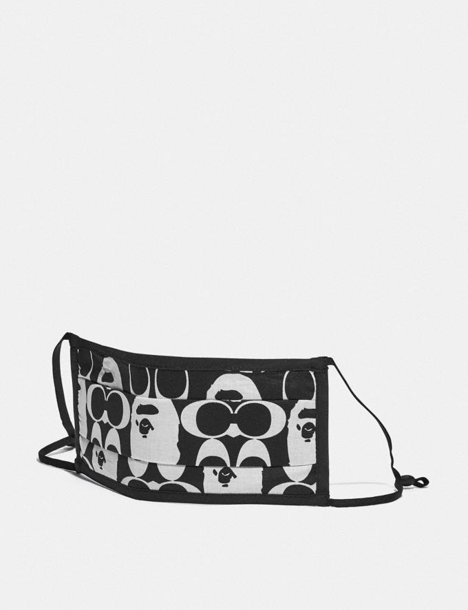 Coach Bape X Coach Face Mask Black/White 7.1 translations
