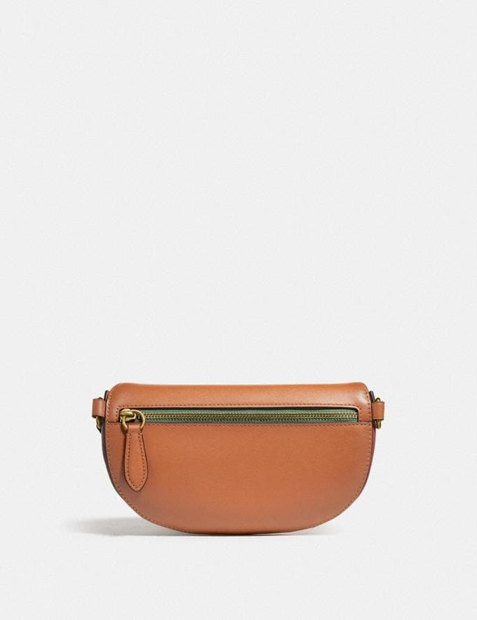 Coach Bethany Belt Bag With Rainbow Quilting Brass/Natural Multi DEFAULT_CATEGORY Alternate View 2