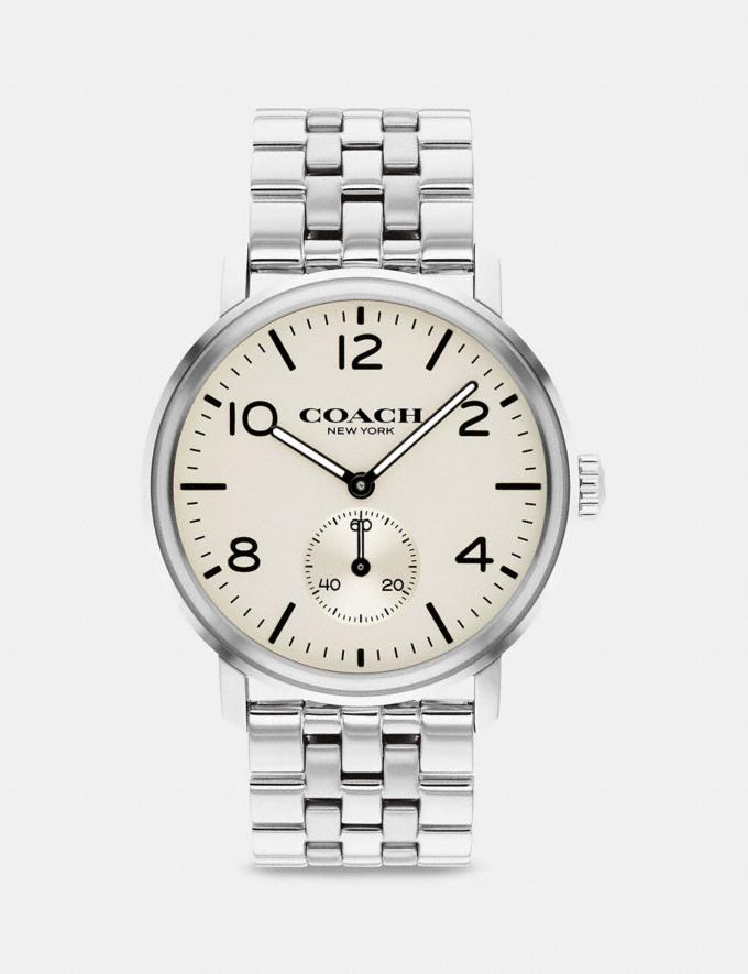 Coach Harrison Watch, 42mm Stainless Steel null