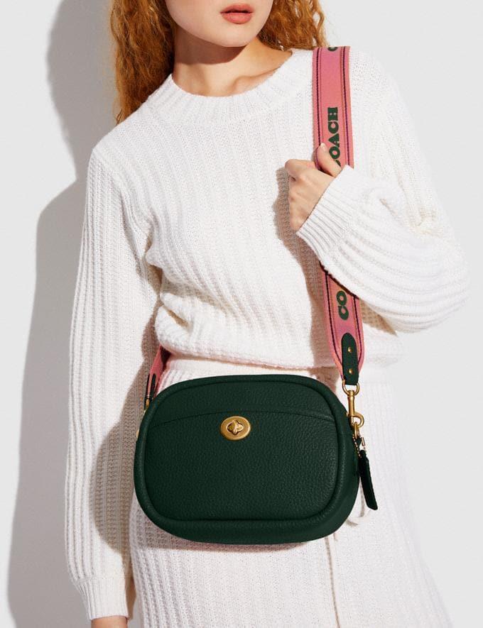 Coach Camera Bag B4/Amazon Green New Women's New Arrivals Bags Alternate View 4