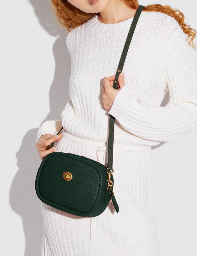 Coach Camera Bag B4/Amazon Green New Women's New Arrivals Bags Alternate View 5
