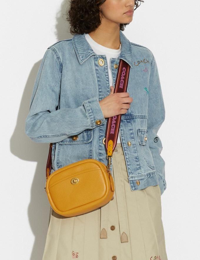 Coach Camera Bag B4/Buttercup New Women's New Arrivals Bags Alternate View 4