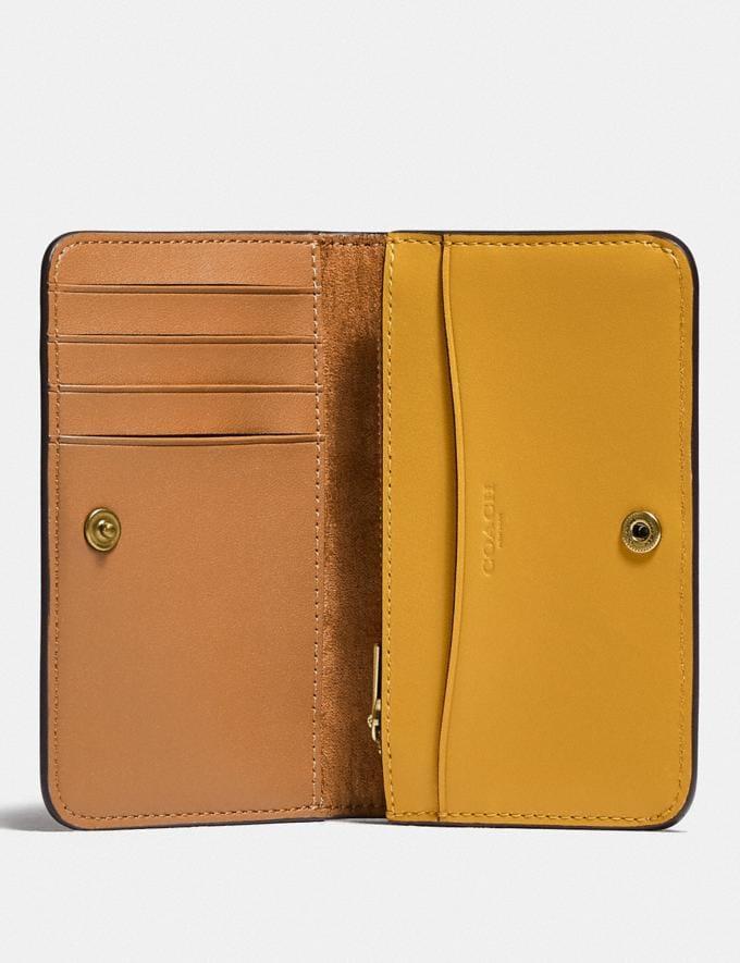 Coach Slim Card Case B4/Buttercup DEFAULT_CATEGORY Alternate View 1