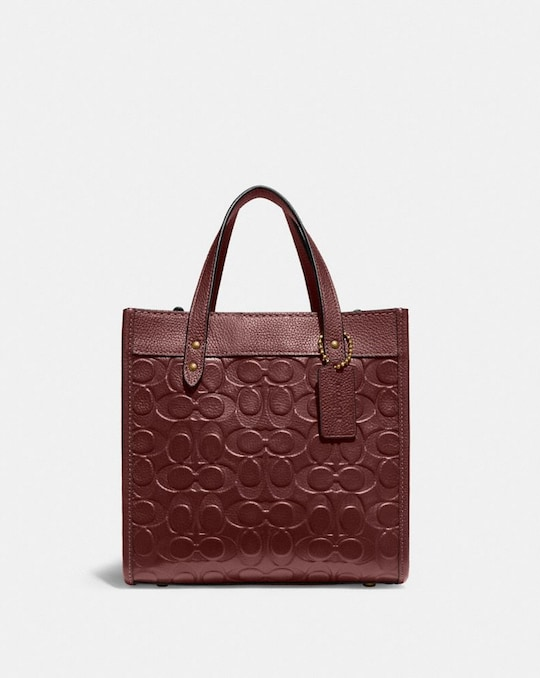 FIELD TOTE 22 IN SIGNATURE LEATHER