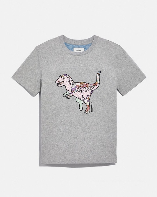 PATCHWORK REXY T-SHIRT IN ORGANIC COTTON