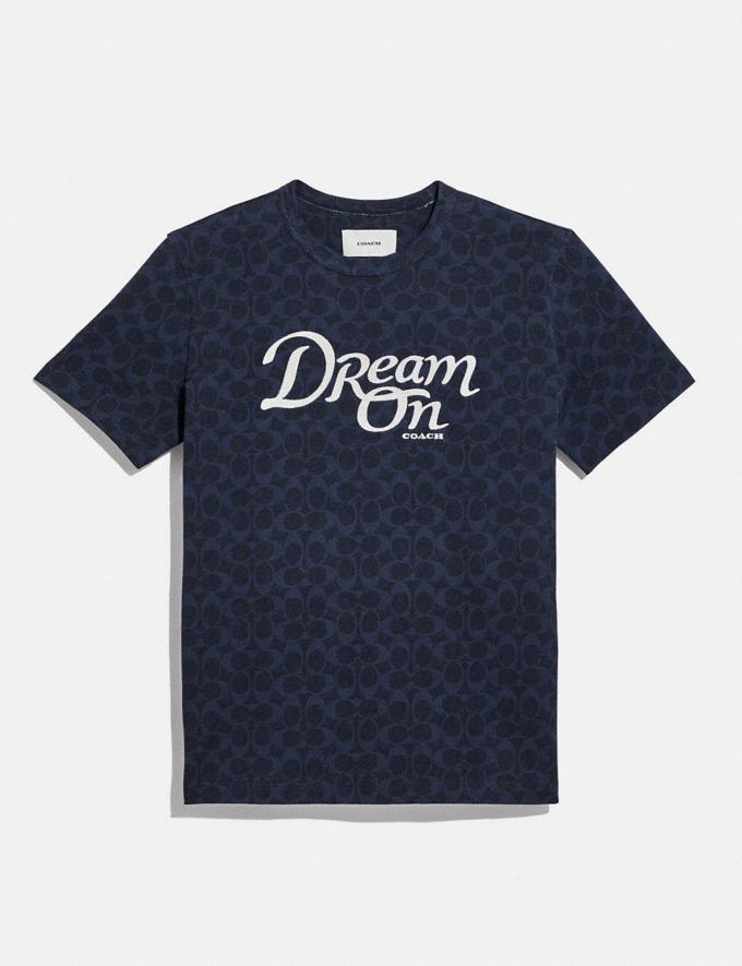 Coach Dream T-Shirt in Organic Cotton Navy null