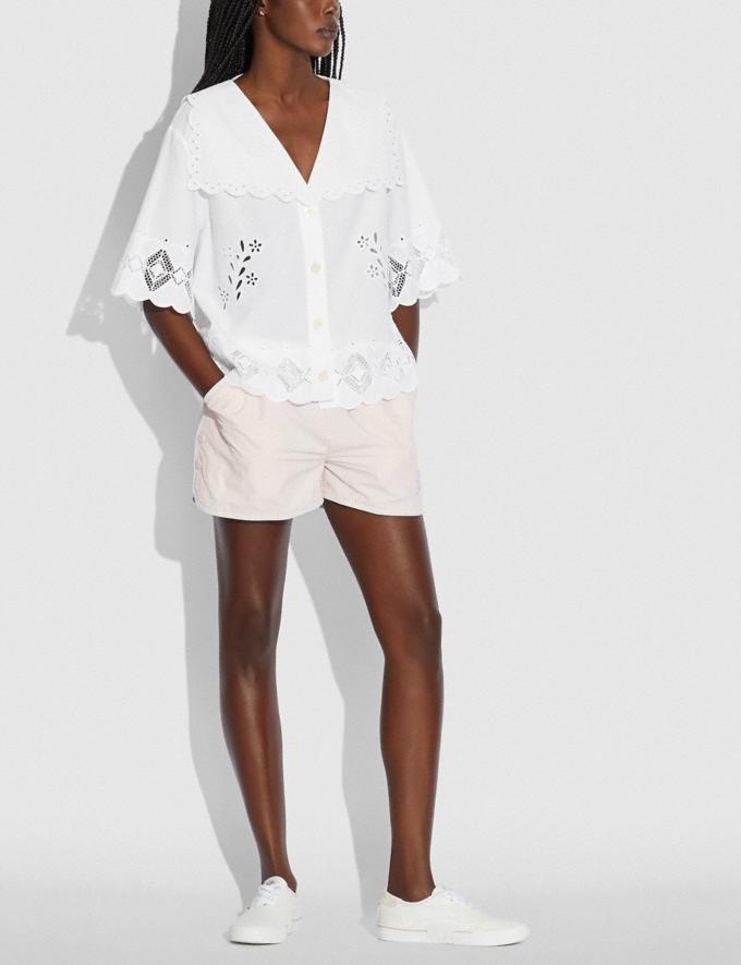 Coach Broderie Anglaise Shirt Off White null Alternate View 1