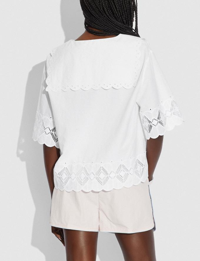 Coach Broderie Anglaise Shirt Off White null Alternate View 2