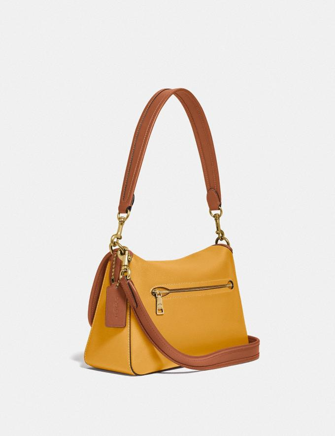 Coach Soft Tabby Shoulder Bag in Colorblock B4/Buttercup Multi  Alternate View 1