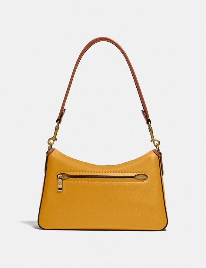 Coach Soft Tabby Shoulder Bag in Colorblock B4/Buttercup Multi  Alternate View 2