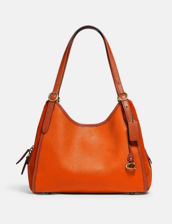 Coach Lori Shoulder Bag Brass/Canyon Multi New Women's New Arrivals Bags