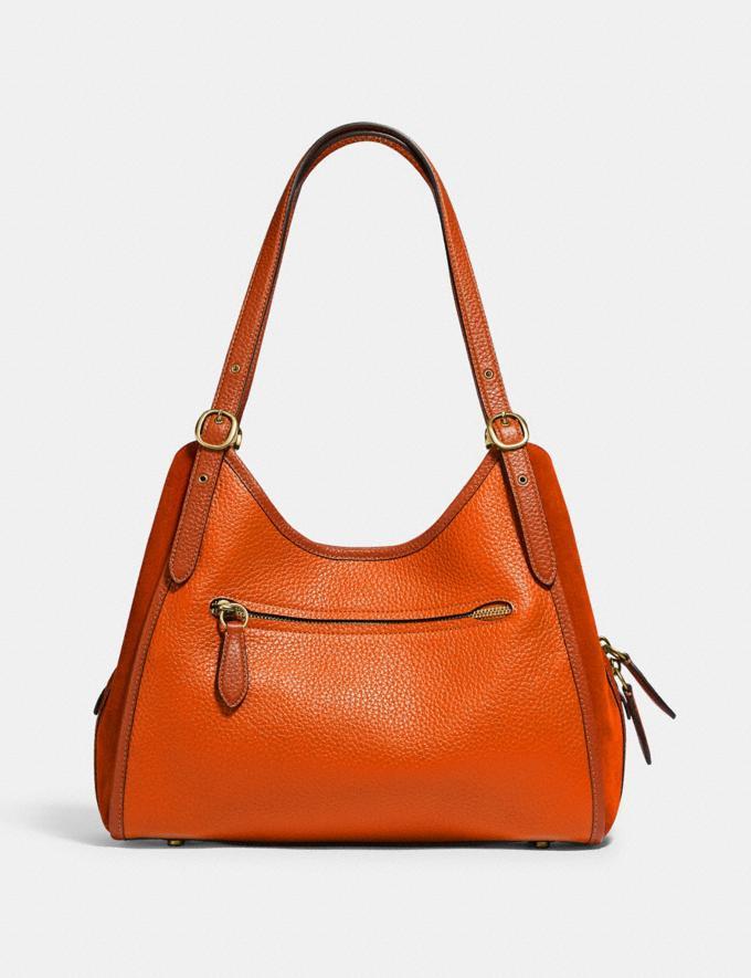 Coach Lori Shoulder Bag Brass/Canyon Multi New Women's New Arrivals Bags Alternate View 2