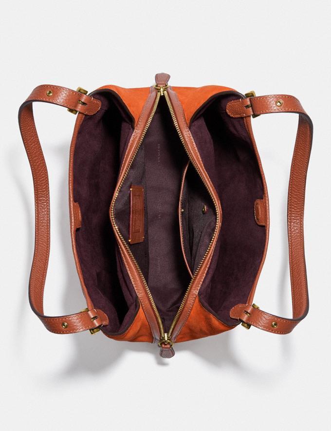 Coach Lori Shoulder Bag Brass/Canyon Multi New Women's New Arrivals Bags Alternate View 3
