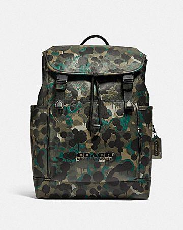 league umschlagrucksack mit camouflage-print