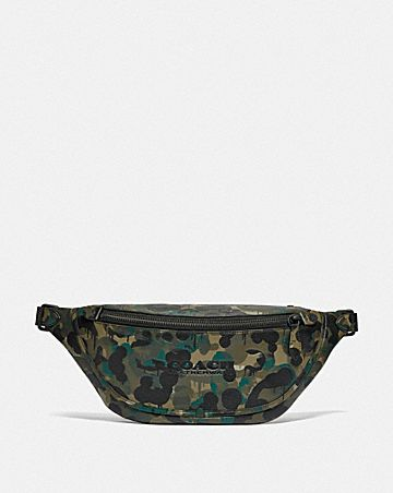 sac ceinture league avec imprimé camouflage
