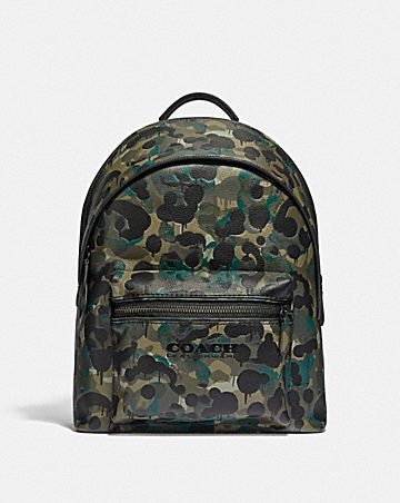 sac à dos charter avec imprimé camouflage