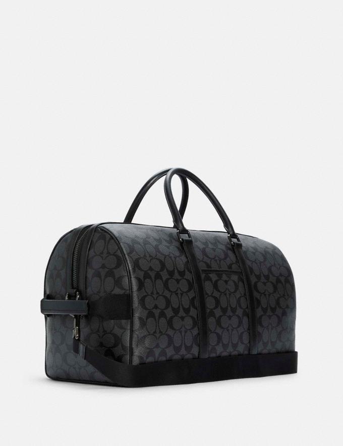 Coach Venturer Bag in Signature Canvas Qb/Charcoal/Black 8.1 Outlet Newness Alternate View 1