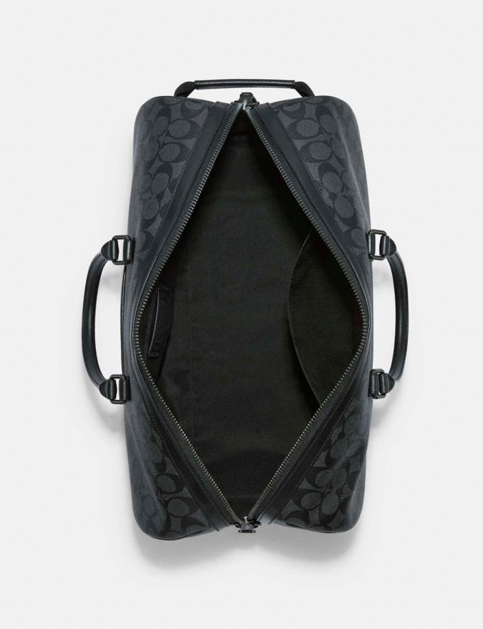 Coach Venturer Bag in Signature Canvas Qb/Charcoal/Black 8.1 Outlet Newness Alternate View 2