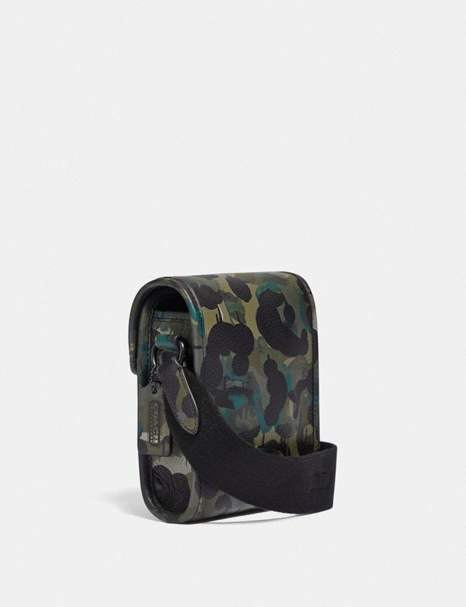 Coach Charter North/South Crossbody With Hybrid Pouch With Camo Print Green/Blue DEFAULT_CATEGORY Alternate View 1