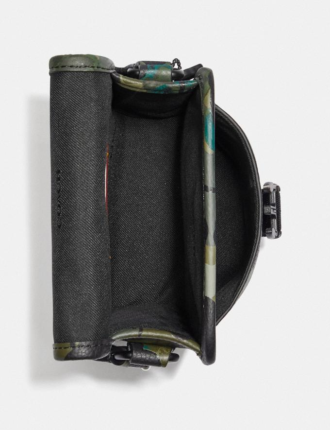 Coach Charter North/South Crossbody With Hybrid Pouch With Camo Print Green/Blue DEFAULT_CATEGORY Alternate View 2