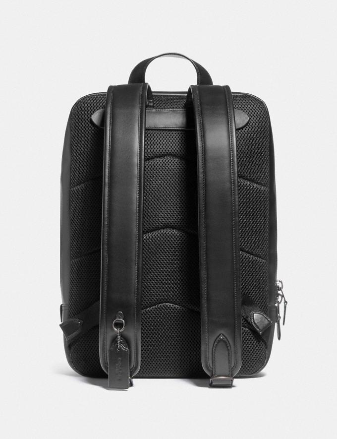 Coach Gotham Backpack in Signature Canvas Black Copper/Charcoal/Black DEFAULT_CATEGORY Alternate View 2