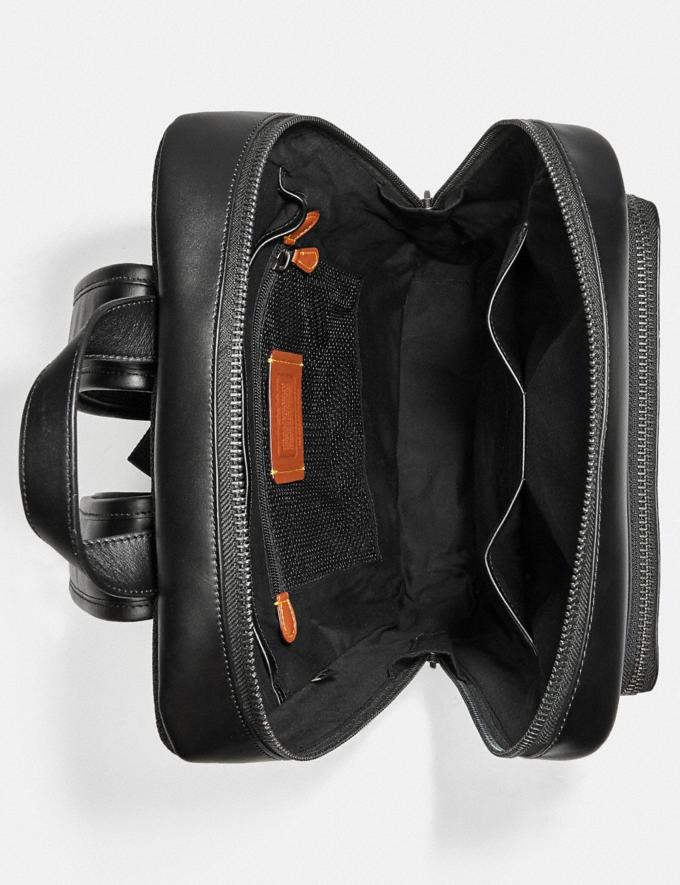 Coach Gotham Backpack in Signature Canvas Black Copper/Charcoal/Black DEFAULT_CATEGORY Alternate View 3