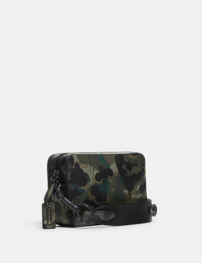 Coach Charter Crossbody With Hybrid Pouch With Camo Print Green/Blue DEFAULT_CATEGORY Alternate View 1