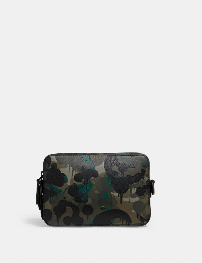 Coach Charter Crossbody With Hybrid Pouch With Camo Print Green/Blue DEFAULT_CATEGORY Alternate View 2