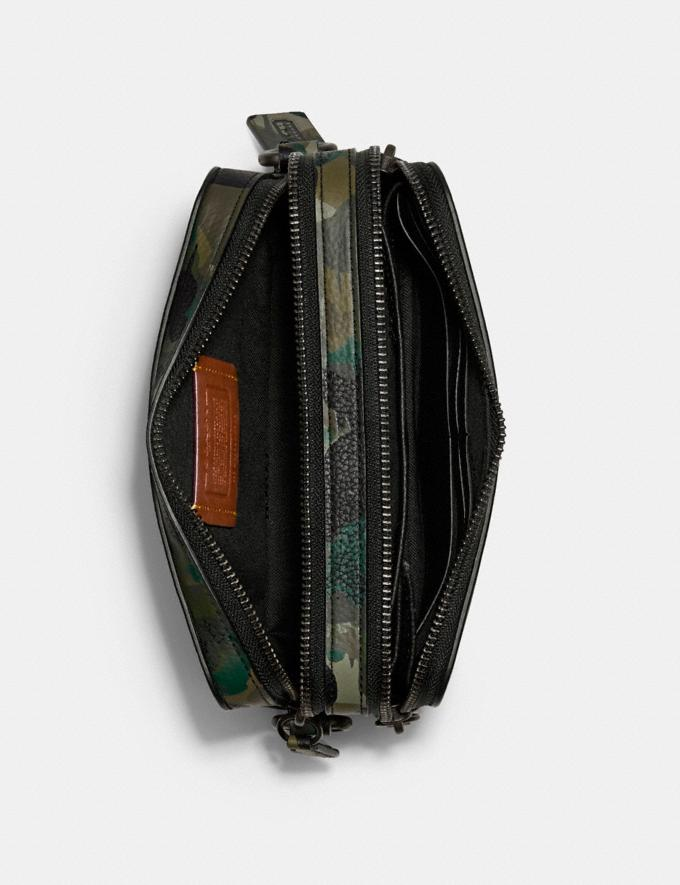Coach Charter Crossbody With Hybrid Pouch With Camo Print Green/Blue DEFAULT_CATEGORY Alternate View 3