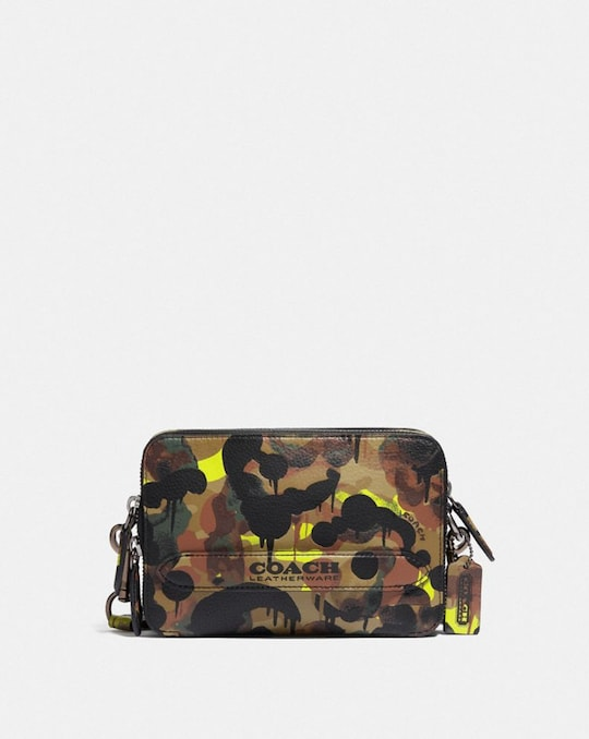 CHARTER CROSSBODY WITH HYBRID POUCH WITH CAMO PRINT