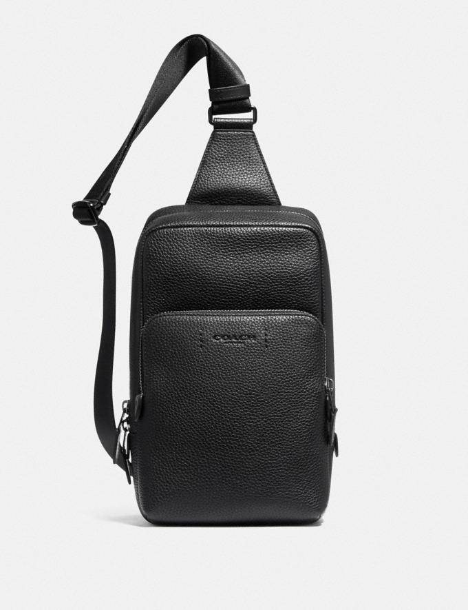 Coach Gotham Pack Black Copper/Black 8.1 newness