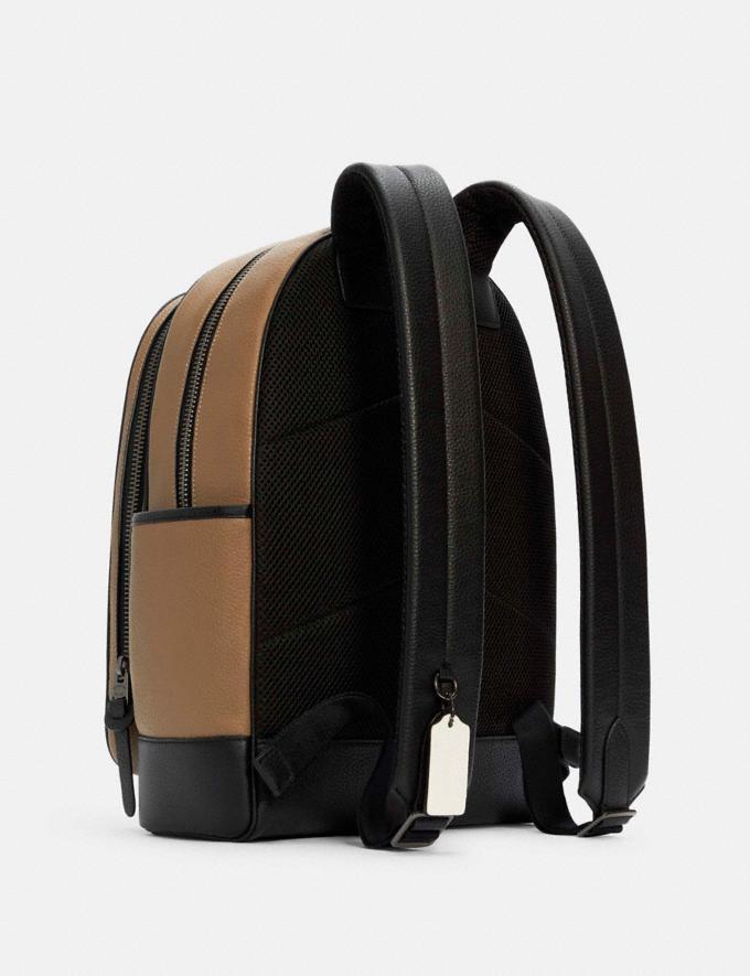 Coach Thompson Backpack Qb/Elm Multi DEFAULT_CATEGORY Alternate View 1