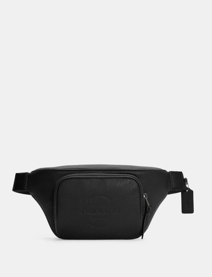 Coach Thompson Belt Bag Qb/Black 8.1 Outlet Newness