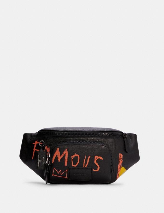 Coach Coach X Jean-Michel Basquiat Track Belt Bag Qb/Black Multi Translations 9.1 Basquiat Outlet Newness