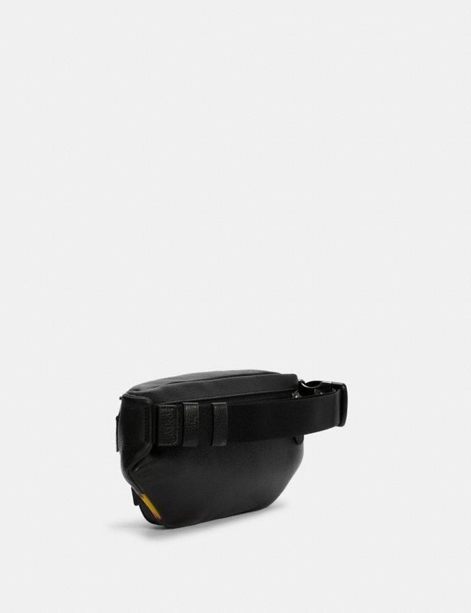 Coach Coach X Jean-Michel Basquiat Track Belt Bag Qb/Black Multi Translations 9.1 Basquiat Outlet Newness Alternate View 1