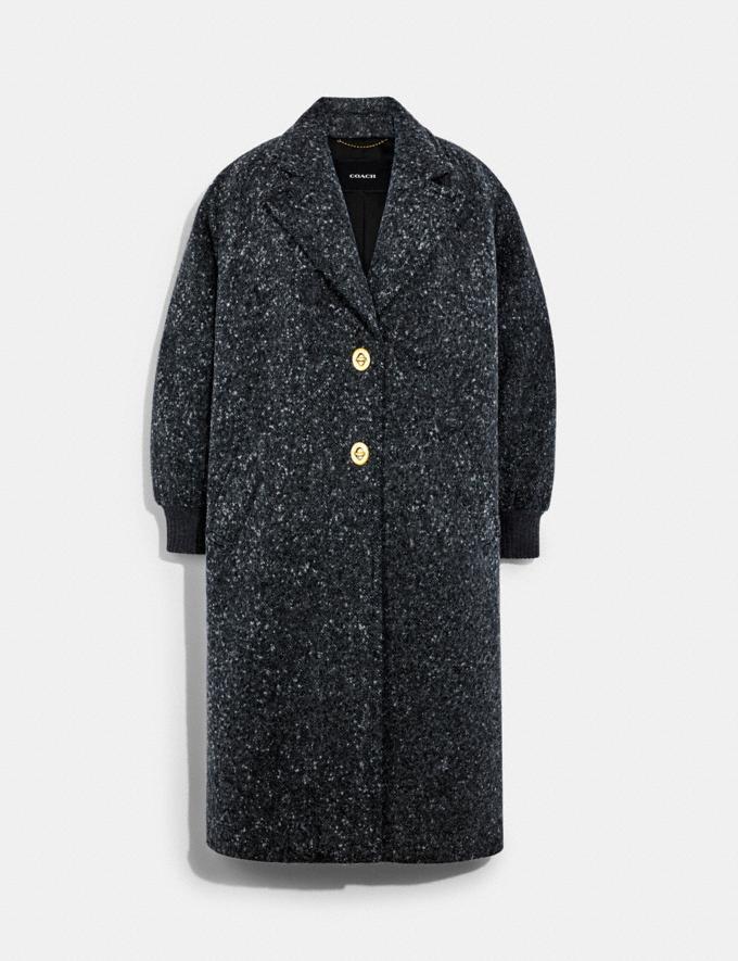 Coach Overcoat Charcoal 9.1-newness