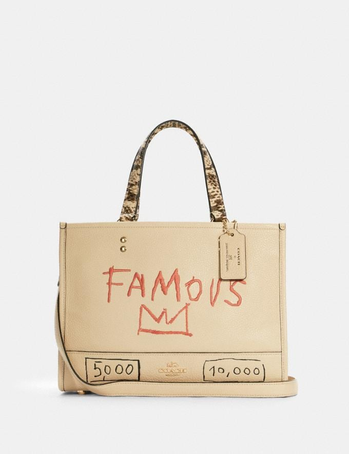 Coach Coach X Jean-Michel Basquiat Dempsey Carryall Im/Ivory Multi Translations 9.1 Basquiat Outlet Newness