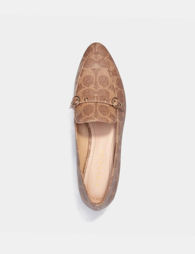 Coach Isabel Loafer Tan  Alternate View 2