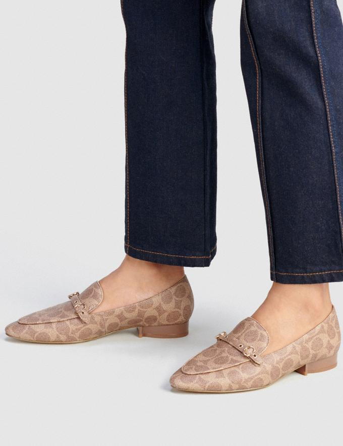 Coach Isabel Loafer Tan  Alternate View 4