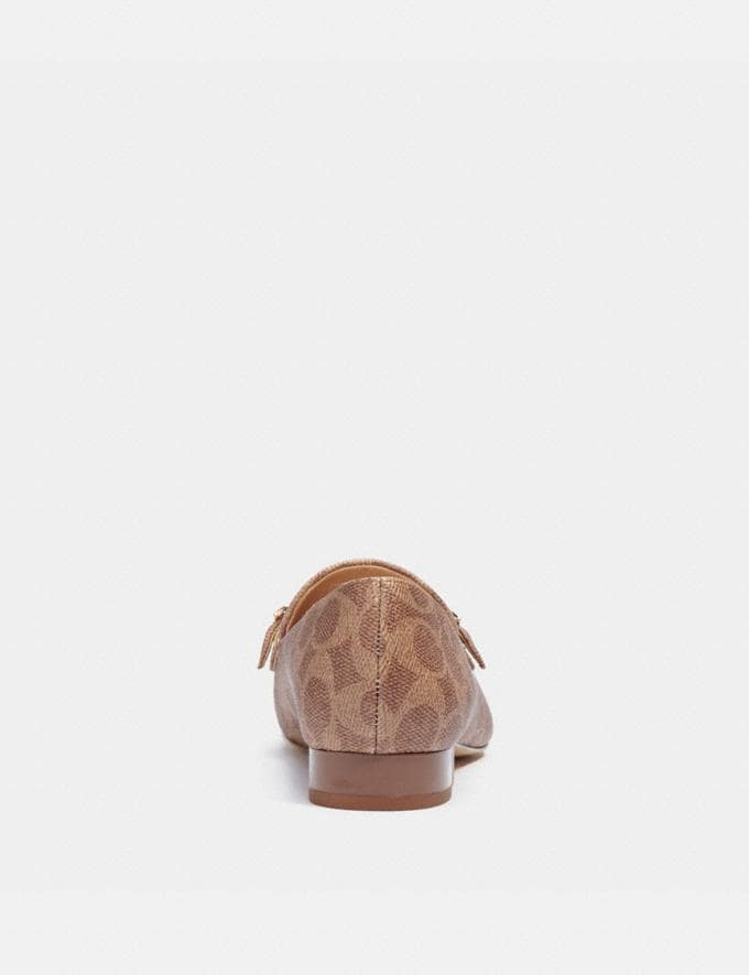 Coach Isabel Loafer Tan  Alternate View 3
